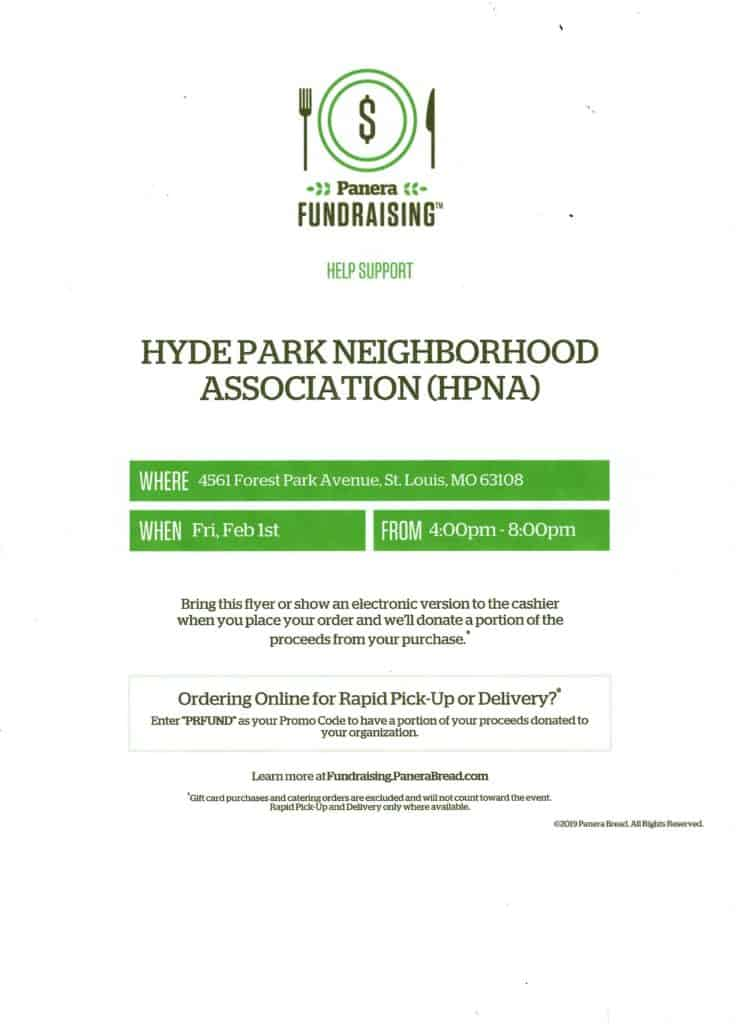 Hyde Park Fundraiser - Feb. 2019